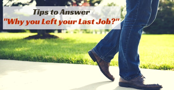 why left last job