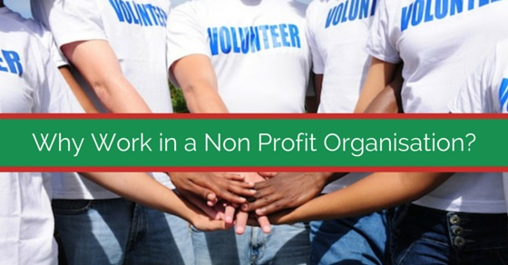work in non profit organization