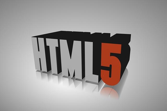 write in html
