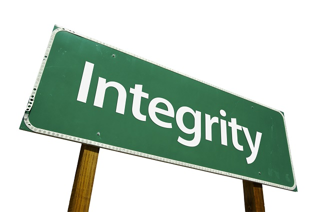 Integrity above everything
