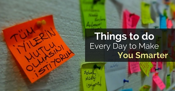 Things to do Every Day