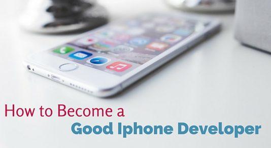 become good iphone developer