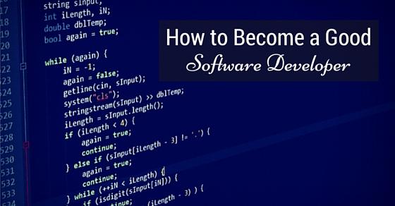 become good software developer
