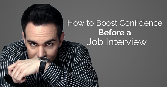 boost confidence before interview
