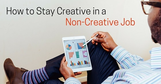 creative in non-creative job