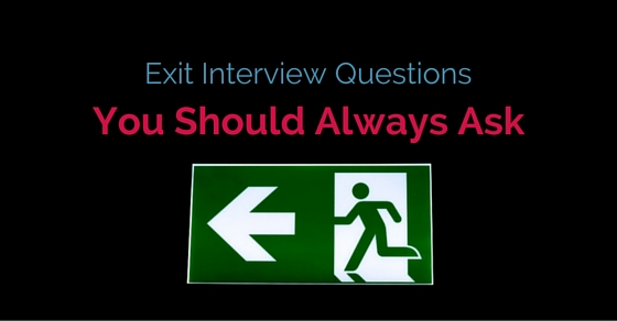 exit interview questions to ask