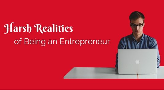 harsh realities of entrepreneur