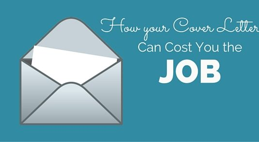 how cover letter cost job