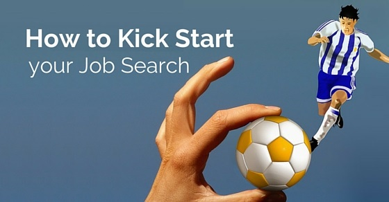 how kick start job search