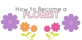 how to become florist