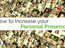 increase your personal presence