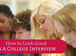 look good college interview