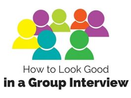 look good in group interview