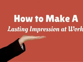 make lasting impression work