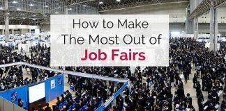 make most of job fairs