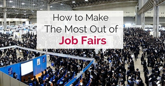 make most of job fairs