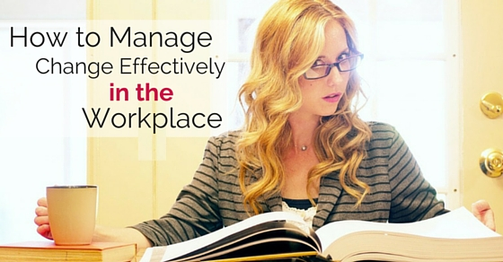 manage change in workplace