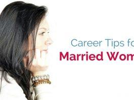 married women career tips