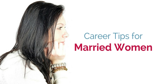 married women career tips