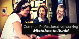 professional networking mistakes to avoid
