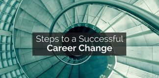 successful career change steps