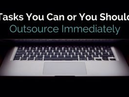 tasks to outsource immediately