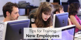 tips training new employees