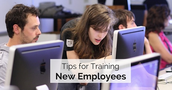tips training new employees
