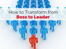 transform from boss to leaders