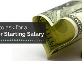 ask better starting salary