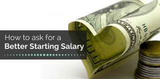 ask better starting salary