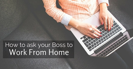 how to request work from home