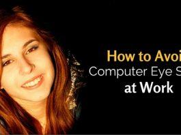avoid computer eye strain
