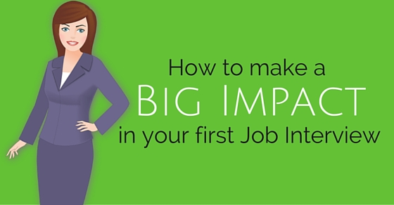 big impact in job interview