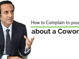 complain boss about coworker