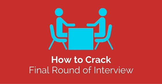 crack final round interview