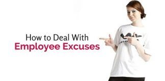deal with employee excuses