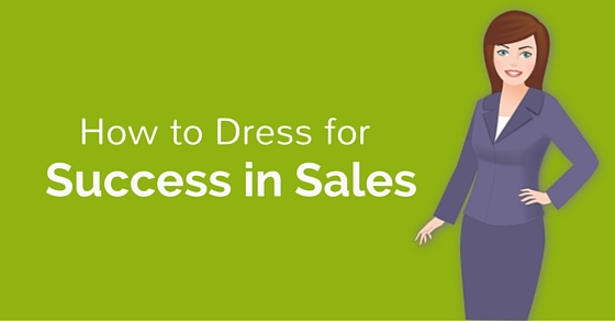 dress for success in sales