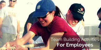 employees team building activities