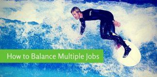 how balance multiple jobs