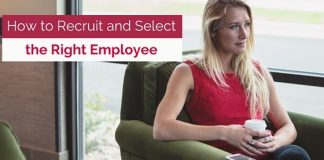 how recruit right employee