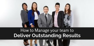 manage team to deliver results