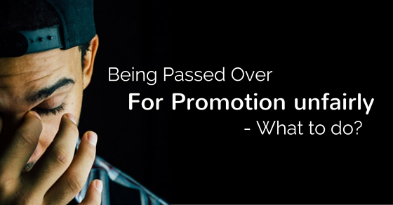 passed for promotion unfairly