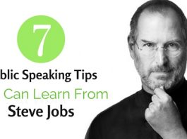 public speaking tips steve jobs