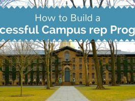 successful campus rep program