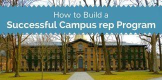 successful campus rep program