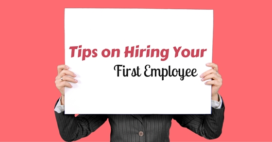 tips hiring first employee