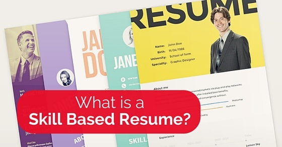 what is skill based resume