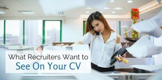 what recruiters want on cv