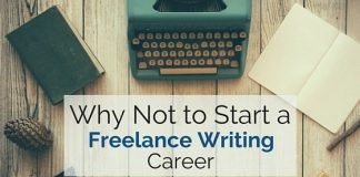 why not start freelance writing